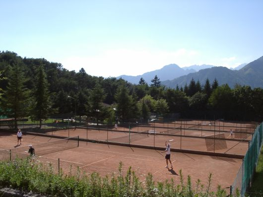 Tennis at Lake Garda