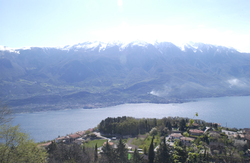 View over the Lake Garda