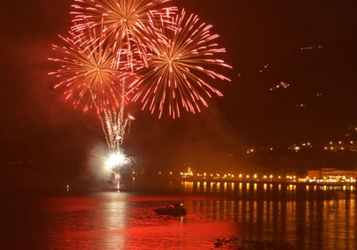 Fireworks at Lake Garda